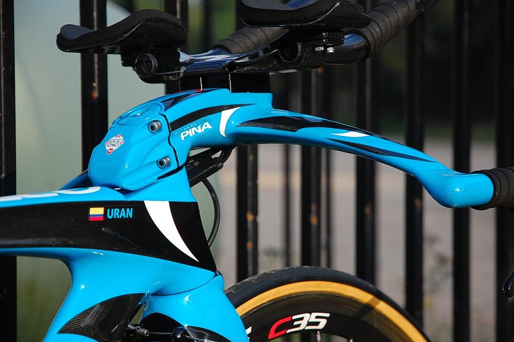 自転車の 自転車 tt トレーニング : 2位だったウラン選手のTT ...